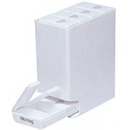 hnlich medi 7 wochen medikamentenbox tages medikamenten dispenser wei medikbedarf. Black Bedroom Furniture Sets. Home Design Ideas