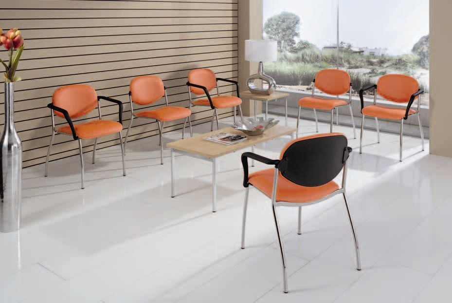 simpex wartezimmerst hle alexa ohne armlehne farbe. Black Bedroom Furniture Sets. Home Design Ideas